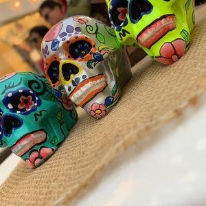 Candy skulls